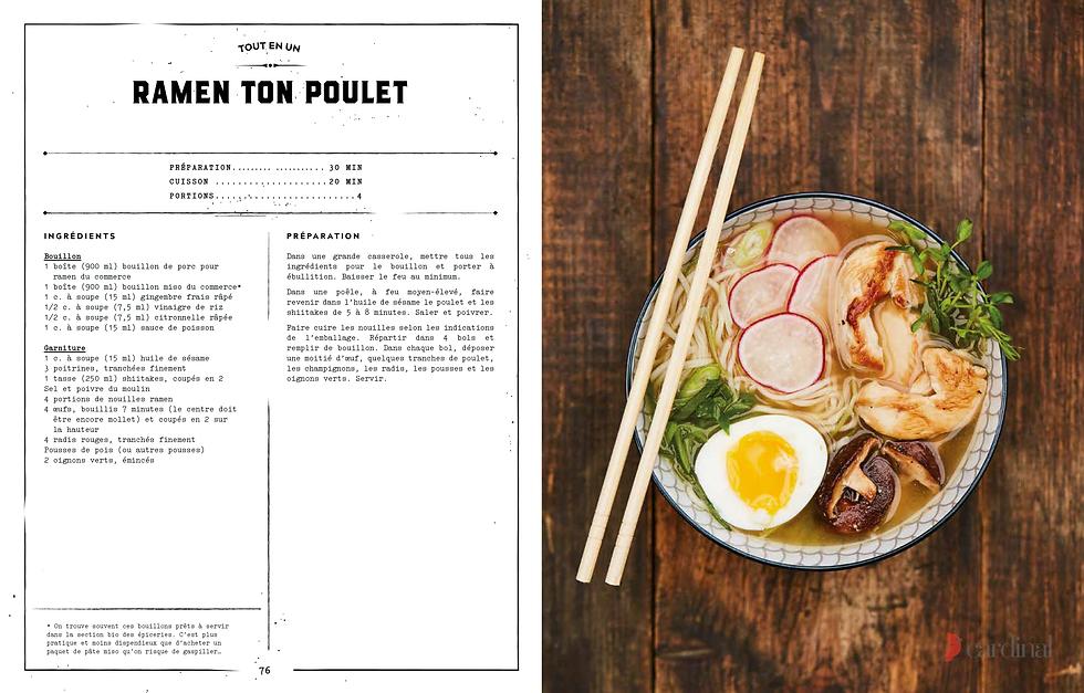 100% POULET - Du four au BBQ - Recette: