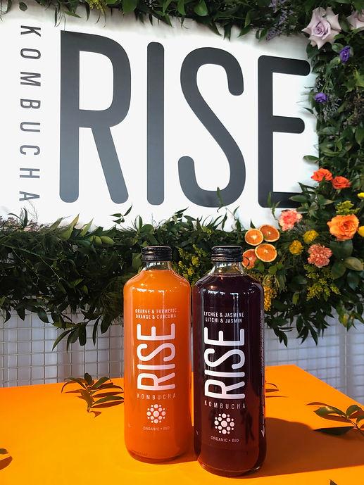 Événement Rise Kombucha_2 nouvelles saveurs
