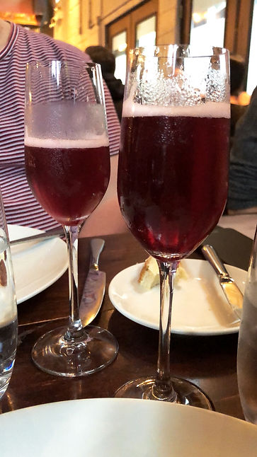 Duckfest 2018 - Restaurant Le local - Cocktail au porto, avec sirop d'érable, jus de lime et bulles!