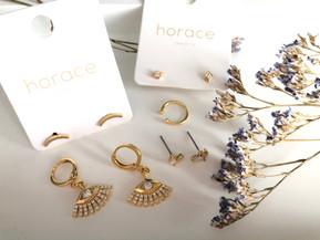 #achatlocal: Horace Jewelry - Rafraîchir sa collection de bijoux d'oreilles