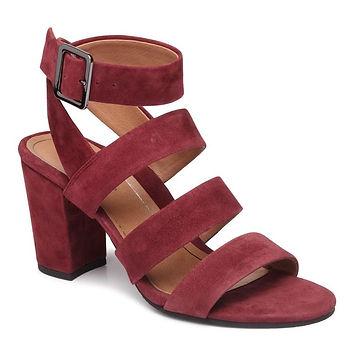 Vionic_Blaire heeled sandal Wine Suede.j