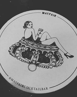 Mayfair sous-verre