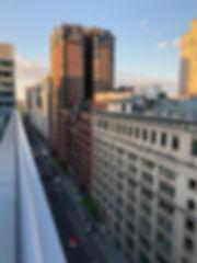 W Montréal - Vue de la terrasse - suite Extrême Wow