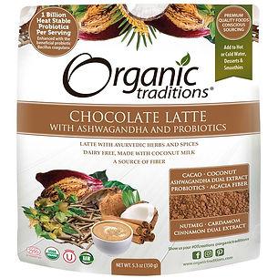 Organic Tradition_Latte au chocolat avec ashwagandha