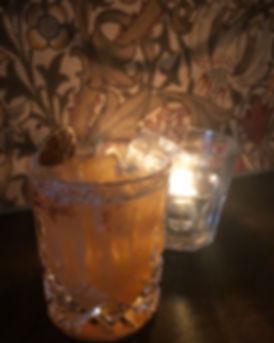 Mayfair Cocktail Saffron Sour