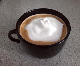Café avec mousse de lait