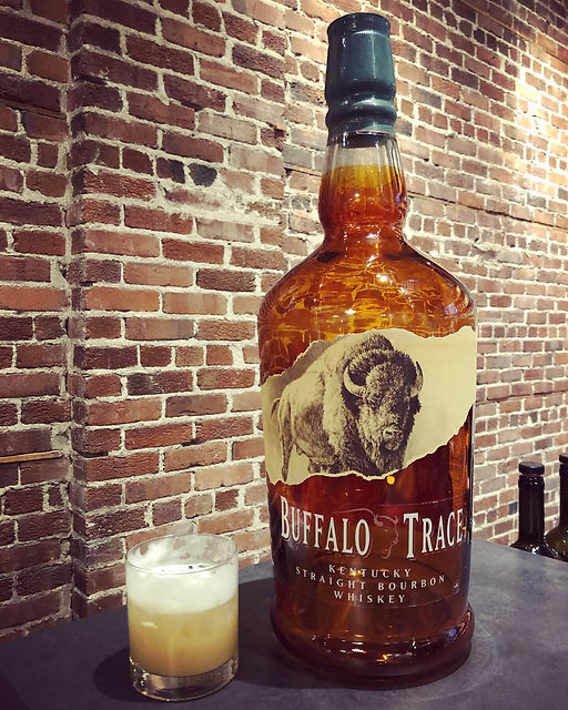 Bourbon Sour avec Buffalo Trace
