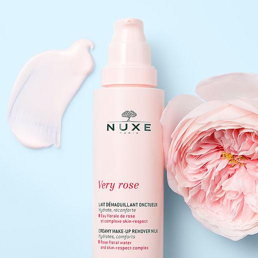 Nuxe-Very rose_Lait démaquillant onctueux