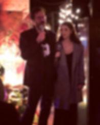 Brett Stabler et Julia Daigle
