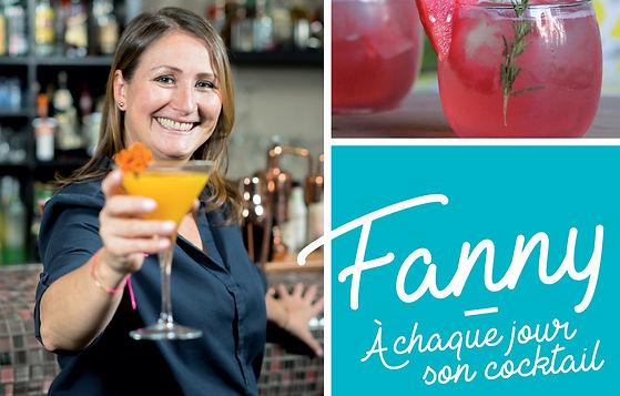 À chaque jour son cocktail - Le drink parfait en 150 recettes, avec le livre de Fanny Gauthier