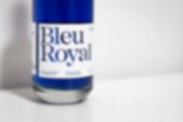 BleuRoyal: un gin floral éclaté, du bleu au rose - Parfait pour contrer le blues hivernal