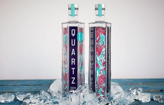 Vodka Quartz édition limitée X Elisabetta Fantone - Un design inspiré des richesses naturelles du Québec