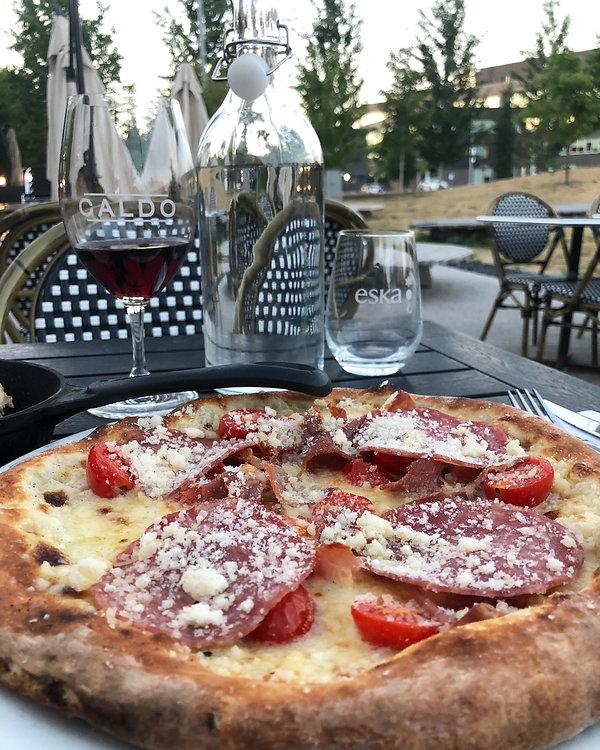 Pizzeria Caldo_Pizza prosciutto