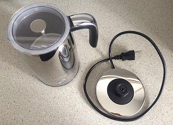 Pièces Moussoir Latte+ Chrome de Caffitaly