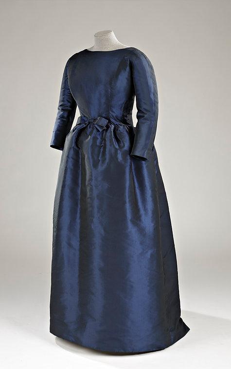 Robe Balenciaga, colletion du Musée McCord