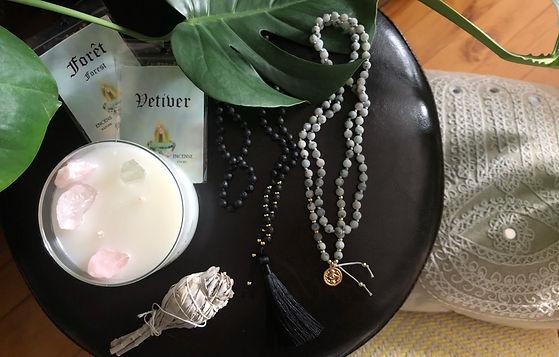 Les accessoires Malalilas - Enjoliver la méditation