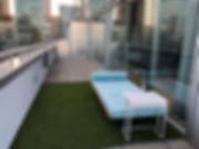 W Montréal - Terrasse d'une suite Extrême Wow