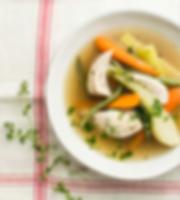 Livre À la soupe de Josée di Stasio - Poule au pot