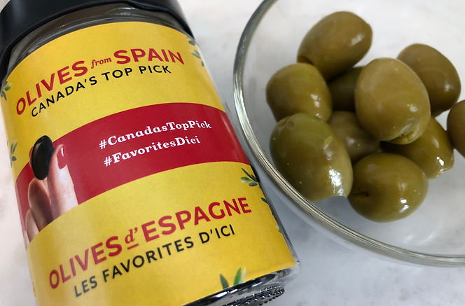 Plaisir gourmand: Les olives d'Espagne