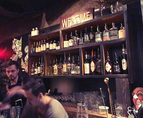 Tribute bar éphémère québécois