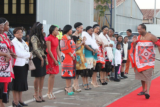 Once You Marry, There Is No Way Back. Instructs King Mswati III