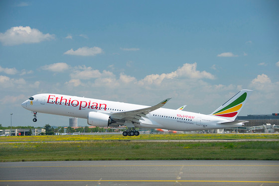 Ethiopian Airlines Places $3 Billion Order For 10 Airbus A350s