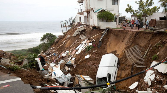60 Dead In South Africa After Flooding And Mudslides