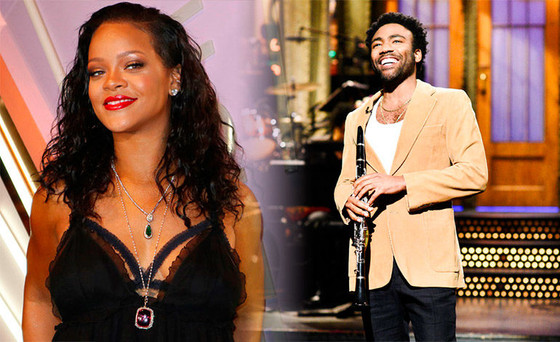 Rihanna And Donald Glover Co-starring In New Movie