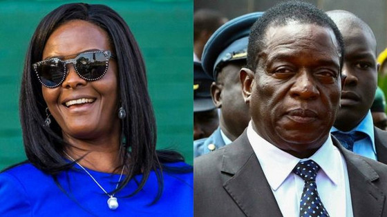 Loyalists Of Grace Mugabe Behind Assassination Attempt, Suspects Mnangagwa