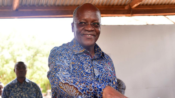 Tanzania's President Magufuli Wins Re-Election With Landslide Victory