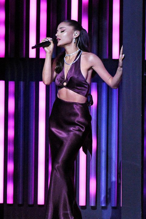 Ariana Grande Makes Stage Debut As Married Woman