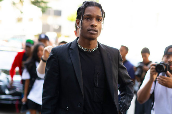 A$AP Rocky Charged For Assault