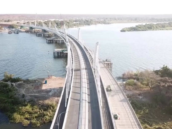 Kazungula Bridge Over Zambezi River Completed But Not Inaugurated