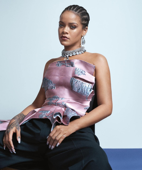 Rihanna On Cover Of Vogue Australia May 2019 Issue