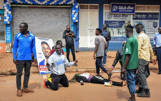 16 Killed In Protests In Kampala After Opposition Presidential Nominee Bobi Wine Is Arrested
