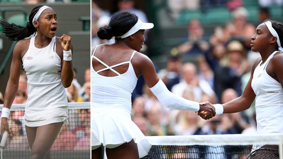 Teenager Cori Gauff Defeats Her Role Model Venus Williams At Wimbledon