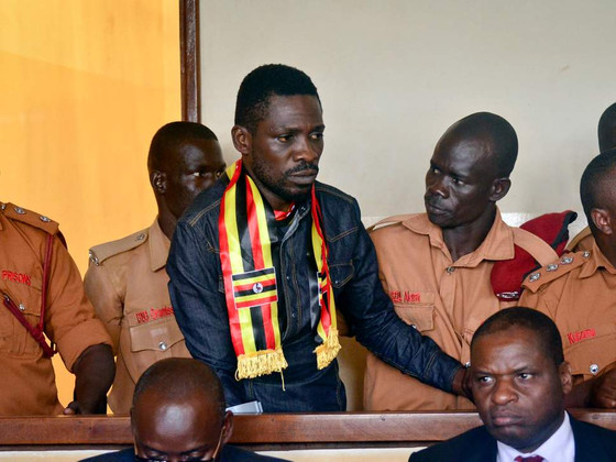 Ugandan MP Bobi Wine Re-Arrested And Charged For Treason