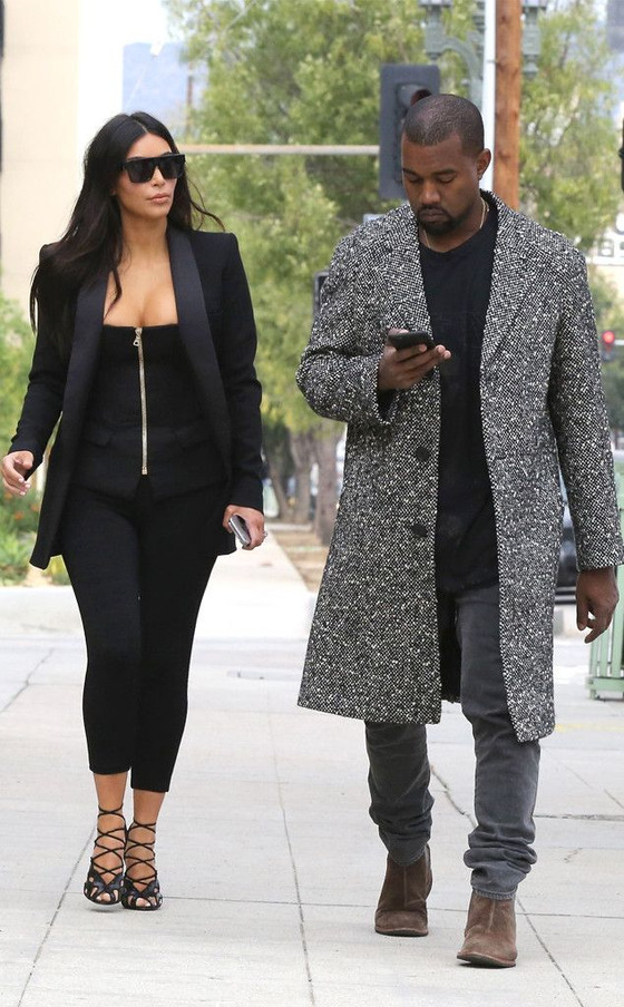 Kanye West And Kim Kardashian No Longer Talking Amidst Growing Divorce Rumors