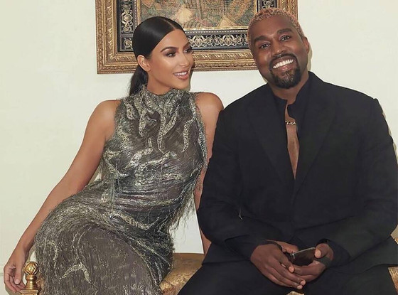 Kim Kardashian And Kanye West On Day Outing With Kids To Museum
