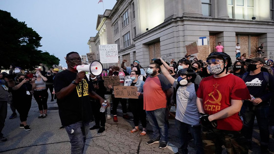 Angry Protests In Kenosha, WI, Against Barbaric Police Shooting Of Jacob Blake Continue