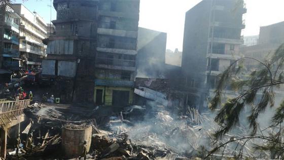 Market Fire In Downtown Nairobi Kills 15