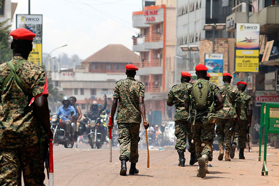 Ugandan Police Arrest 100 In Kampala As They Crack Down Protests