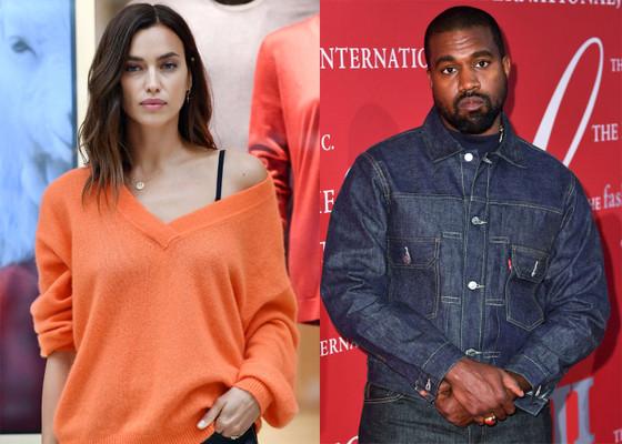 Irina Shayk And Kanye West Romance Speculations