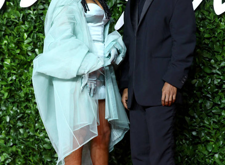 Rihanna And A$AP Rocky Talk Skin Care