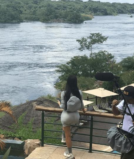 Kim Kardashian And Ye In Uganda