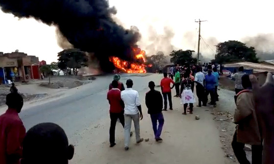 Fuel Tanker Explosion In Uganda Kills 10