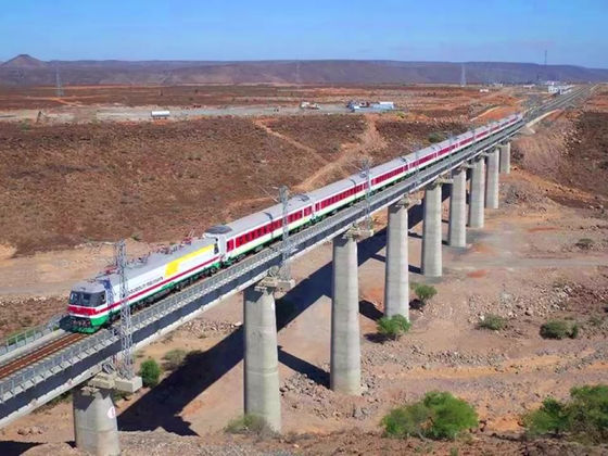 Addis Ababa-Djibouti Railway. First Trans-Border Electrified Railway In Africa