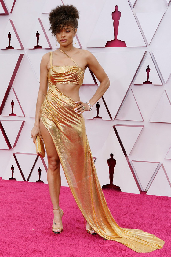 Andra Day Slays On Red Carpet At Oscars 2021