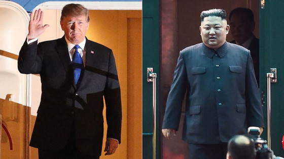 Trump And Kim Jong Un Second Summit In Vietnam Commences