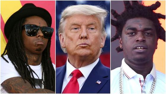 Rappers Lil Wayne And Kodak Black Pardoned By Trump